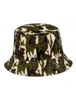 Bucket Hat For Kids With Camo Print