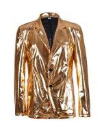 Gold Metallic Blazer