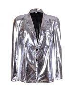 Silver Metallic Blazer