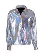 Silver 70's Shirt