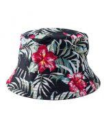 Hawaiian Print Bucket Hat