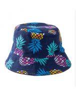 Blue Pineapple Bucket Hat