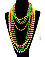 Pack of 4 neon necklaces