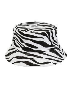 Zebra Print Bucket Hat