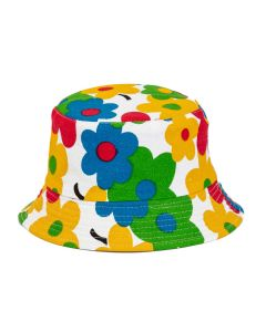 Kid's Sunhat With Flowers