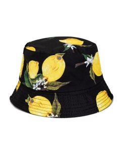Bucket Hat With Lemons