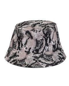 Snake Print Bucket Hat
