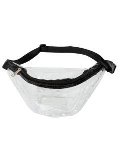 Transparent Clear PU Bum Bag