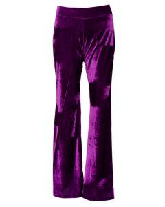 Purple Velvet Flares