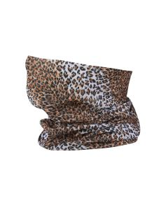 Leopard Print Snood Type Face Mask