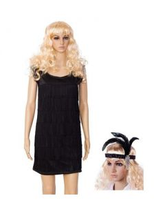 Black Flapper Dress