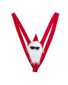 Santa Mankini Thong Swimsuit