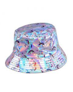 Silver Unicorn Bucket Hat