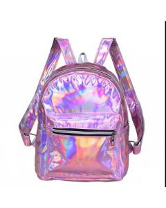 Pink Holographic Back Pack