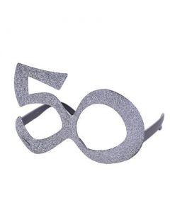 Silver 50 Glasses