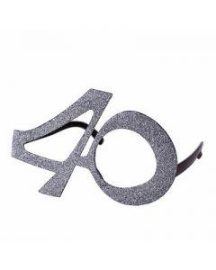 Silver 40 Glasses