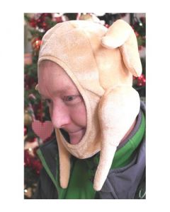 Christmas Turkey face hat