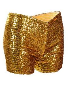 Gold Sequin Shorts Very Stretchy