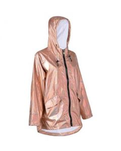 Gold Holographic Raincoat