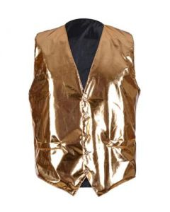 Gold Metaillic Waitcoat
