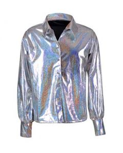 Silver 70's Shirt