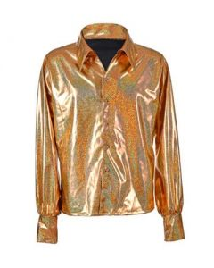 Gold 70's Shirt