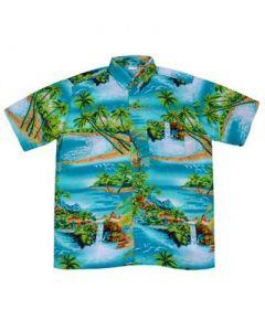 Turquoise Waterfall Shirt