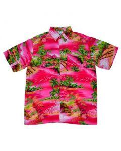 Pink Waterfall Shirt