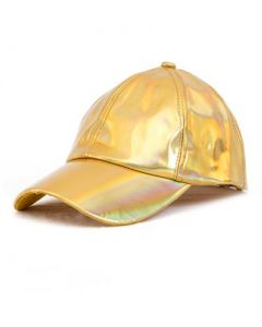 Gold Holographic Bucket Hat