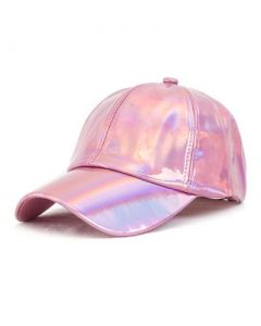 Pink Holographic Baseball Cap
