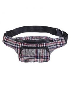Tweed Bumbag Grey