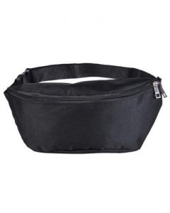 Large Black Bumbag