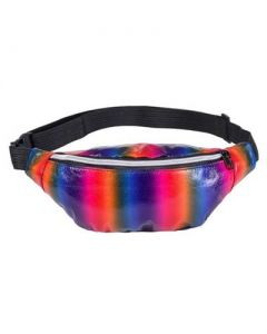 Rainbow Bumbag Back Pocket