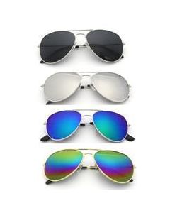 Mirroered Aviator Sunglasses