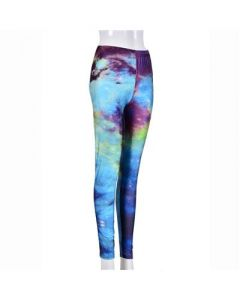 Galaxy Leggings Turquoise