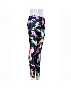 Unicorns Leggings Black