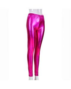 Pink Laser Effect Leggings