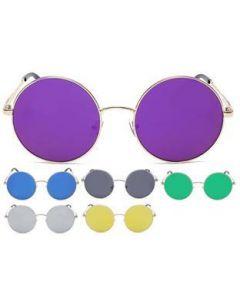 Oversized Lennon Sunglasses Coloured Lens