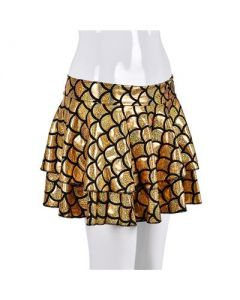 Gold Scale Holographic Skirt