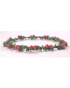 Festive head garland large berry