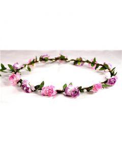 Head garland garland pink lilac