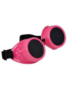 Steam punk goggles pink
