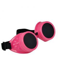 Steam punk goggles pink