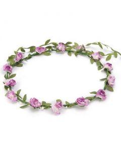 Flower garland lilac
