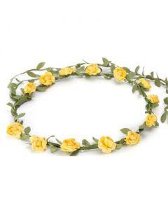 Flower garland yellow