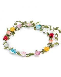 Flower garland multi coloured