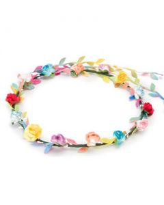 Flower garland multi coloured with multi trail