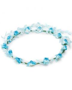 Flower garland turquoise w turqoise trail