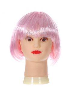 Short Baby Pink Bob Wig
