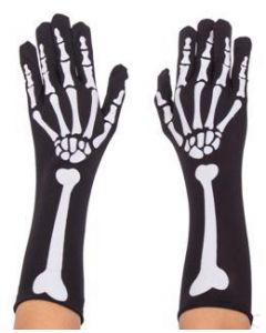 Skeleton Gloves Full Finger